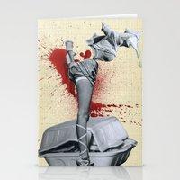 medicine Stationery Cards featuring Bad medicine by Oscar Varona