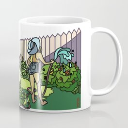 Watering Out Back Coffee Mug