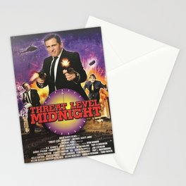 Geng Threat Level Midnight Stationery Cards