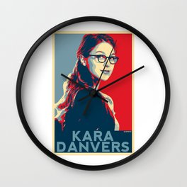 Kara Danvers POP ART Poster Wall Clock