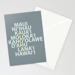 Hawaiian Islands Stationery Cards