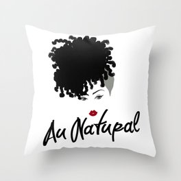 Au Natural Pillow 2 Throw Pillow