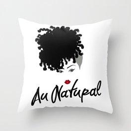 Au Natural Pillow 2 Throw Pillow