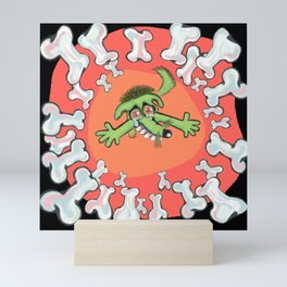 dog bones Mini Art Print