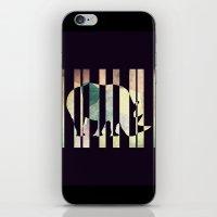 rhino iPhone & iPod Skins featuring Rhino by Yasmina Baggili