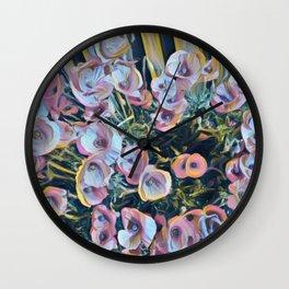 Poppy Magic Wall Clock