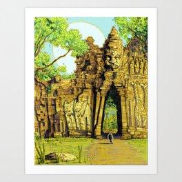 Threshold Guardian - Mythic Fantasy Art Print