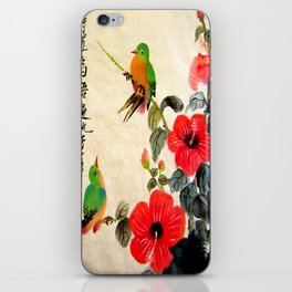 courting season iPhone Skin