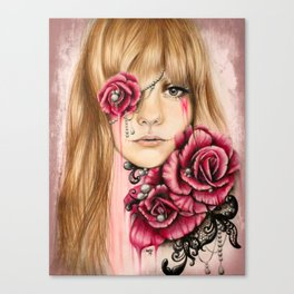 Sullenly Sweet Canvas Print