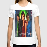 vampire diaries T-shirts featuring The Vampire Diaries by Don Kuing