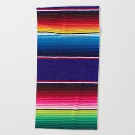 Serape of Mexico Beach Towel