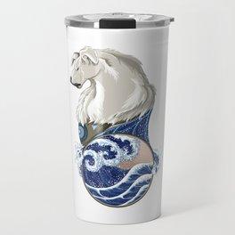 Naga with Water Symbol Travel Mug
