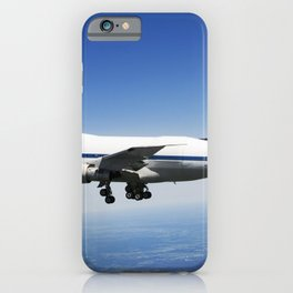 NASADLR Stratospheric Observatory for Infared Astronomy (SOFIA) 747SP cruises over central Texas on iPhone Case