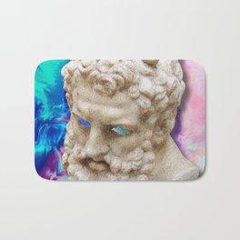 Vaporwave Socrates Aesthetics Bath Mat