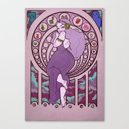 Princess of Space Canvas Print