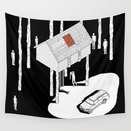 Hereditary by Ari Aster and A24 Studios Wall Tapestry