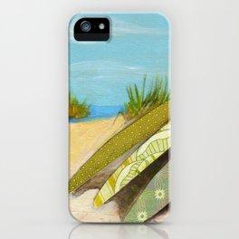 Sea Dunes iPhone Case