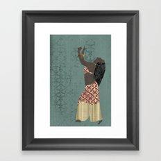 Belly dancer 1 Framed Art Print