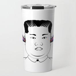 Kim Jong Un Travel Mug