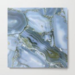 Blue Wealth Metal Print