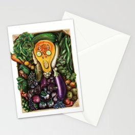 The Green Scream Stationery Cards