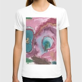 Jewel Toned Abstract T-shirt