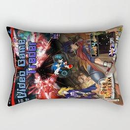 Video Game Trader #24 Cover Design  Rectangular Pillow