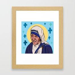 Mother Teresa Framed Art Print