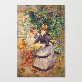 Auguste Renoir - In The Garden. Canvas Print
