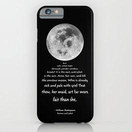 Moon Bridge Shakespeare iPhone Case