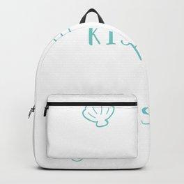 Mermaid Kisses and Starfish Wishes Backpack
