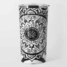 Floating Fire Flower Travel Mug
