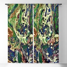 Fire and Ice Blackout Curtain