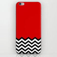Black Lodge Dreams (Twin Peaks) iPhone Skin