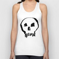 relax Tank Tops featuring RELAX by Josh LaFayette
