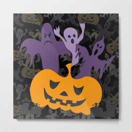 Halloween poster Metal Print