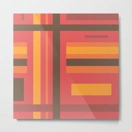 Disjointed Stripes (B2) Metal Print