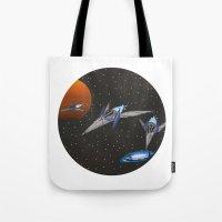 starfox Tote Bags featuring Starwing / Starfox by SuperPixelTime!