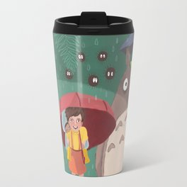 Waiting Neko Bus Travel Mug