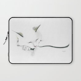 Flat Cat Laptop Sleeve