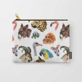 Really Random Zoo Animals Carry-All Pouch