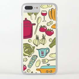 Cookin' Clear iPhone Case