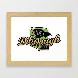 DilDough Beer Framed Art Print