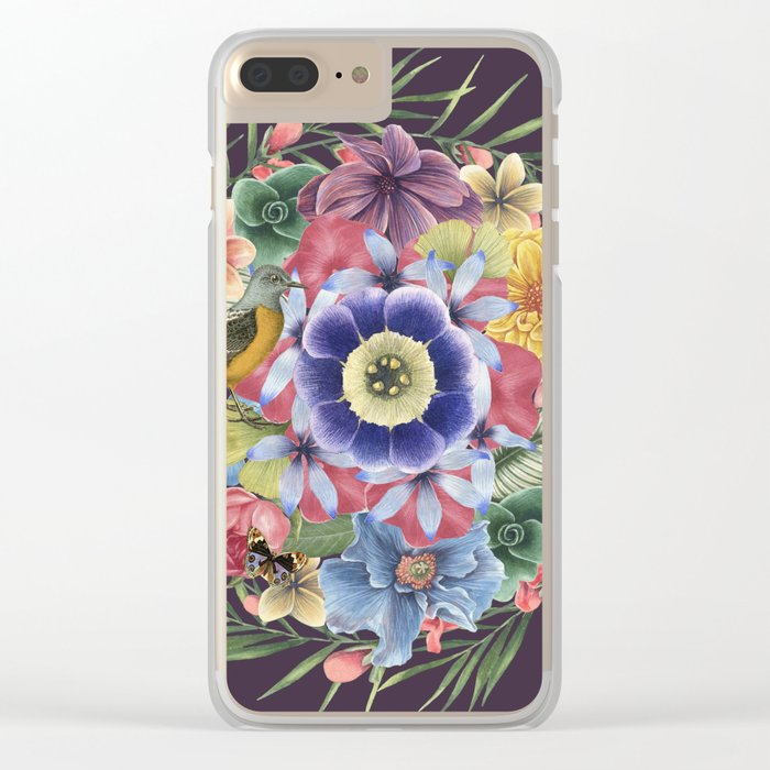 SPRING III Clear iPhone Case