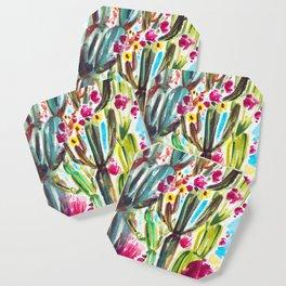 Café Cactus Coaster