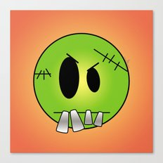 Scary Little Frankinstein Canvas Print