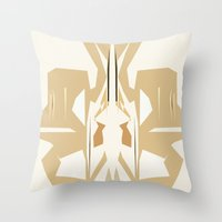 trumpet Throw Pillows featuring Trumpet by Warfield