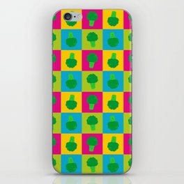 Popart Broccoli iPhone Skin