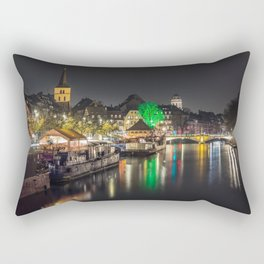 Colors of Strasbourg Rectangular Pillow