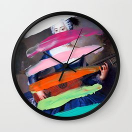 Composition 505 Wall Clock
